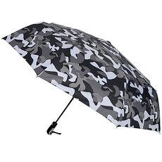 (特賣)【2mm】超大街頭迷彩 超大傘面自動開收傘(淺灰)