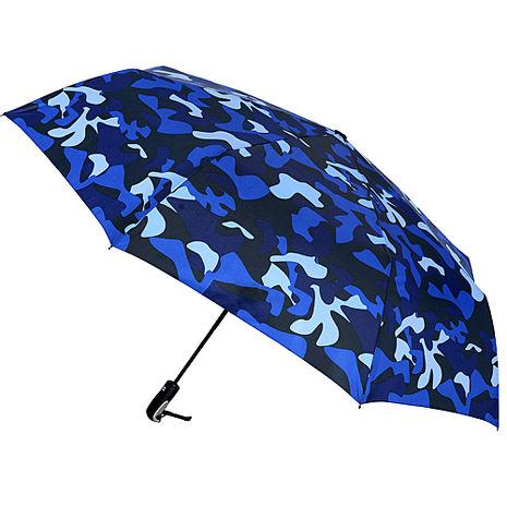(特賣)【2mm】超大街頭迷彩 超大傘面自動開收傘(寶藍)