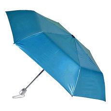 (特卖)【2mm】第二代 100%遮光降温 黑胶自动开收伞 (宝蓝)