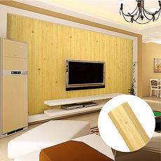 韓國3D立體DIY仿木紋壁貼/仿檜木紋壁貼 (木頭黃)