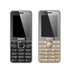 BENTEN W168 3G 直立式雙卡雙待/無相機/無記憶卡/軍人機/可換電池(金色)
