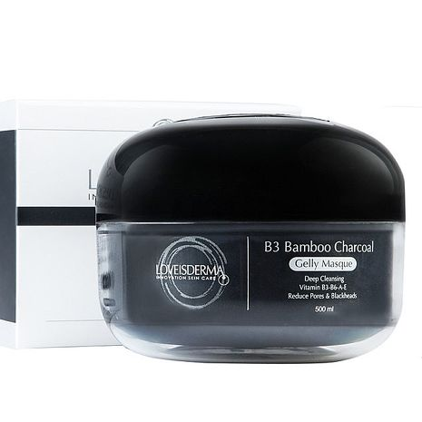 【愛斯德瑪】LOVEISDERMA竹炭深層淨顏凝膠面膜 B3 Bamboo Charcoal Gelly Masque(新品上市) 500ml