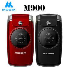 【MOBIA 摩比亞】M900 2.4吋3G無照相摺疊手機(全配雙電池組)