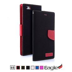 【Eagle 美國鷹】iPhone 6s/6 Denim Wallet 單寧掀蓋磁扣皮套(6色)