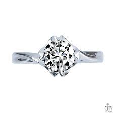 City Diamond『午茶戀香』50分鑽石戒指/求婚戒指/鑽戒(預購)