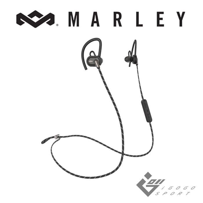 Marley Uprise 藍牙運動耳機經典黑