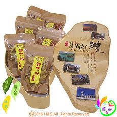 《和之心》精選綜合小寶島果乾禮盒(芭樂/楊桃/情人果各130克)