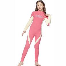 【SAIN SOU】女童連身水母衣泳裝A80411