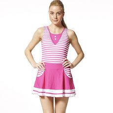 【SARBIS】MIT大女連身裙泳裝附泳帽B98519-08