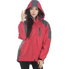 【SAIN SOU】防水/防風/透氣/保暖+可拆式防風帽兩件式外套(中性款)T27301L