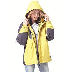 【SAIN SOU】防水/防風/透氣/保暖+可拆式防風帽兩件式外套(中性款)T27302