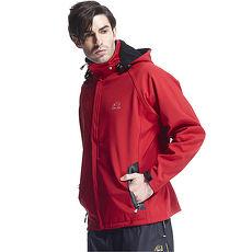 【SAIN SOU】防水/防風/透氣/保暖+可拆式防風帽外套(中性款)T27312-03XL