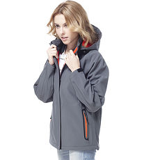 【SAIN SOU】保暖透氣+防水貼條+可拆式防風帽外套(中性款)T27312-15XL