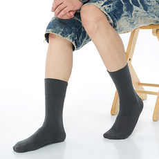 【KEROPPA】萊卡無痕寬口短襪*2雙(男女適用)C90001-深灰