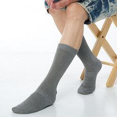【KEROPPA】萊卡高筒休閒紳士襪*2雙C90002-灰色