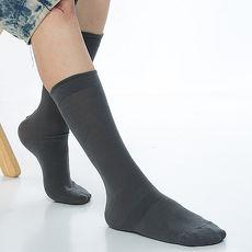 【KEROPPA】萊卡高筒休閒紳士襪*2雙C90002-深灰