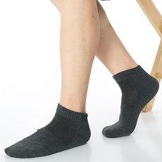 【KEROPPA】可諾帕細針毛巾底氣墊束底男短襪x4雙C91002深灰