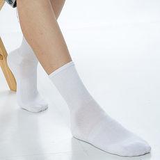 【KEROPPA】可諾帕寬口萊卡運動襪x3雙(男女適用)C98002白