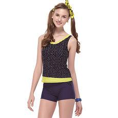 【SARBIS】泡湯SPA大女二截式泳裝附泳帽B92612