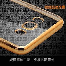 三星Samsung Galaxy J7(2016年新版)手機殼保護套ETOUCH電鍍邊框軟殼保護殼