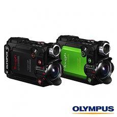 送 64G U3+副廠座充+回函送原廠電池+漂浮手腕帶~ OLYMPUS TG Tracker  防水 潛水 浮潛 相機 (元佑公司貨)綠