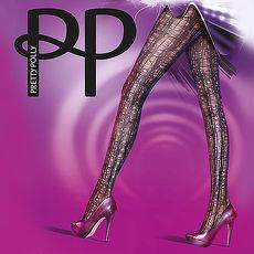 英國進口【Pretty Polly】抽象線紋印花彈性褲襪