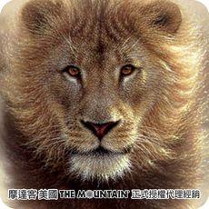 【摩達客】(預購)(男/女童裝)美國進口The Mountain  揚塵獅王 純棉環保短袖T恤(10416045029a)