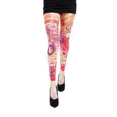 【摩達客】英國進口義大利製【Pamela Mann】繽紛印象 內搭褲九分褲襪/無足褲襪