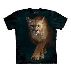 【摩達客】美國進口The Mountain 狩獵獅  純棉環保短袖T恤(預購)
