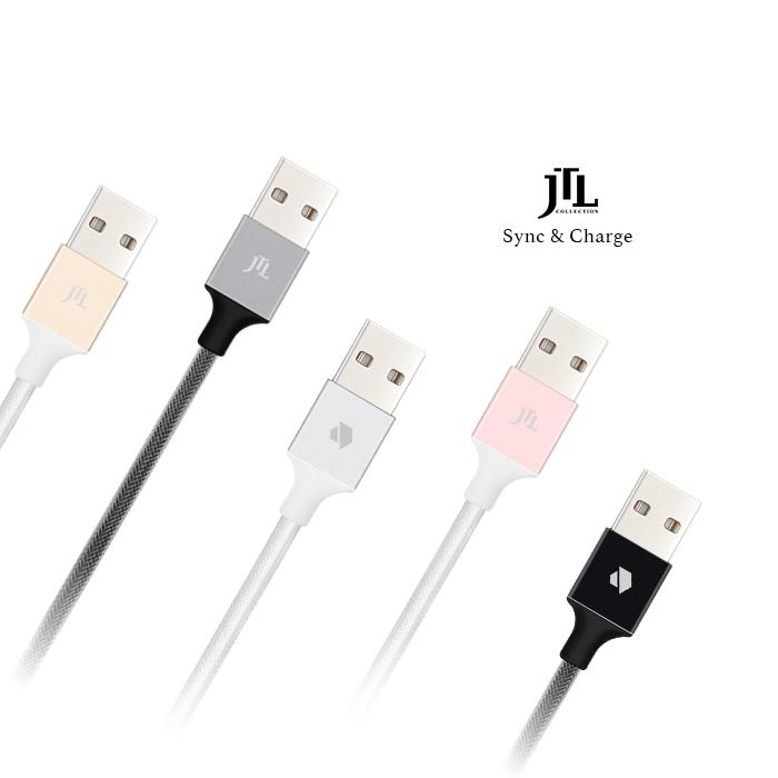 【加價購】JTL MFi認證鋁合金線身強化快充 8pin to USB 傳輸線