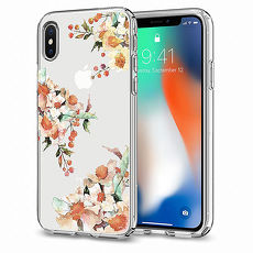 SGP / Spigen iPhone X Liquid Crystal-超輕薄型彈性保護殼