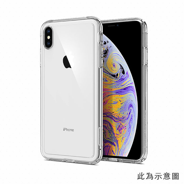 SGP / Spigen iPhone XR 6.1 Crystal Hybrid軍規防摔手機殼透明