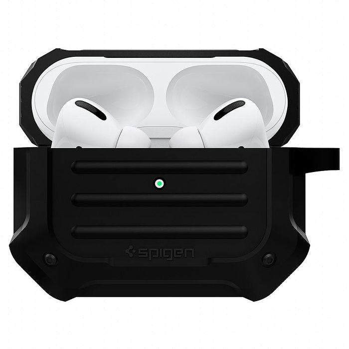 Spigen AirPods Pro- Tough Armor 防摔保護殼軍綠