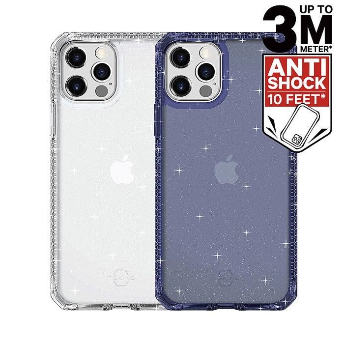 ITSKINS iPhone 12/mini/Pro/Pro Max HYBRID SPARK-防摔保護殼12/12 Pro 燦綠