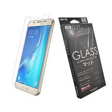 【Metal-Slim】 Samsung Galaxy J5(2016)0.26mm 9H弧邊耐磨防指紋鋼化玻璃保護貼