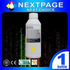 【台灣榮工 】Lexmark  全系列 Dye Ink 黃色可填充染料墨水瓶/1000ml