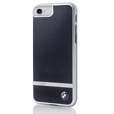 BMW iPhone 7 / iPhone 7 plus 沉穩鋁條紋手機殼(黑)