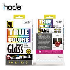 贈小清潔組 HODA iPhone 8 防碎軟邊3D滿版玻璃貼 黑/白/消光黑白色