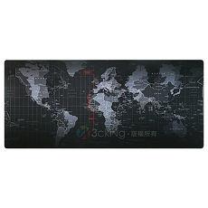 捷樂米 世界地圖加大寬版滑鼠墊/桌墊400x900x3mm