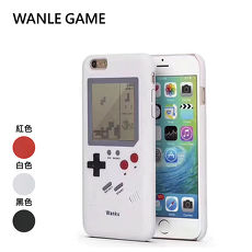 WANLE Apple iPhone 7Plus / 8Plus (5.5吋) Gameboy復古俄羅斯方塊手機殼白色