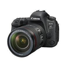 Canon EOS 6D Mark II EF 24-105mm f/4L IS II USM 單鏡組(公司貨)-送128G 90MB/s記憶卡+相機包+減壓背帶+清潔組+保護貼