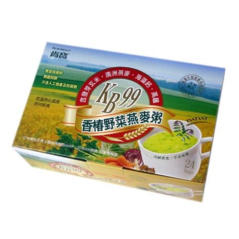肯寶KB99香椿野菜燕麥粥(3盒組)