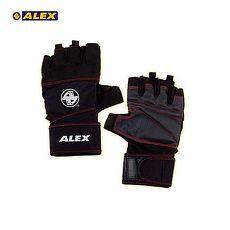 【ALEX】POWER 手套 -自行車 單車 健身 重量訓練 黑