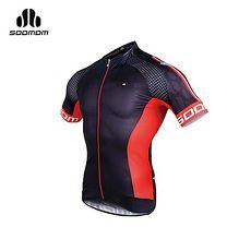 【SOOMOM】男夢想短車衣-單車 自行車 黑紅