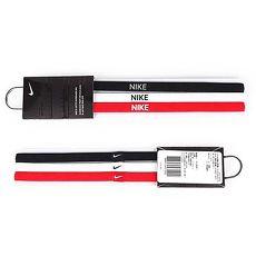 【NIKE】3條入髮帶 -頭帶 慢跑 路跑 瑜珈 黑白紅