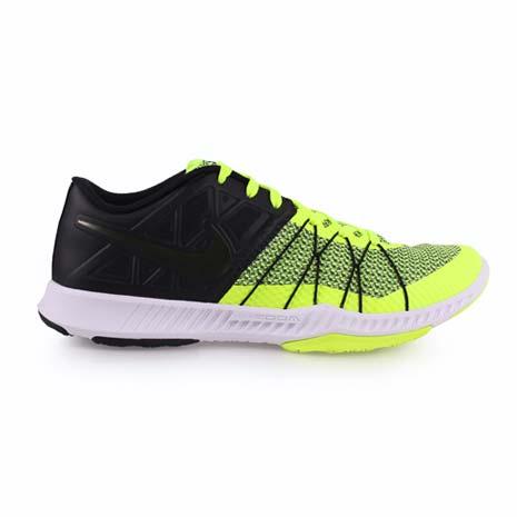 【NIKE】ZOOM TRAIN INCREDIBLY FAST 男訓練鞋 螢光黃黑