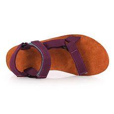 【TEVA】女織帶涼鞋 - 拖鞋 海灘 戲水 游泳 咖啡紅