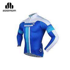 【SOOMOM】速盟 男佐羅長車衣 -自行車 單車 寶藍白