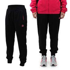 ~FIRESTAR~女吸排針織長褲~慢跑 路跑 訓練 黑螢光粉紅