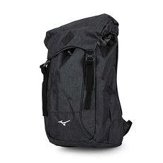 【MIZUNO】OUTDOOR背包-後背包 雙肩包 旅行包 美津濃 深灰